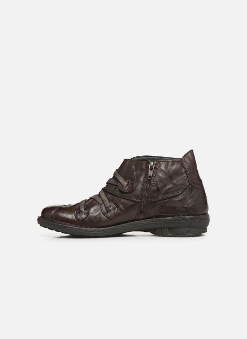 Bottines et boots Khrio 10504K Marron vue face
