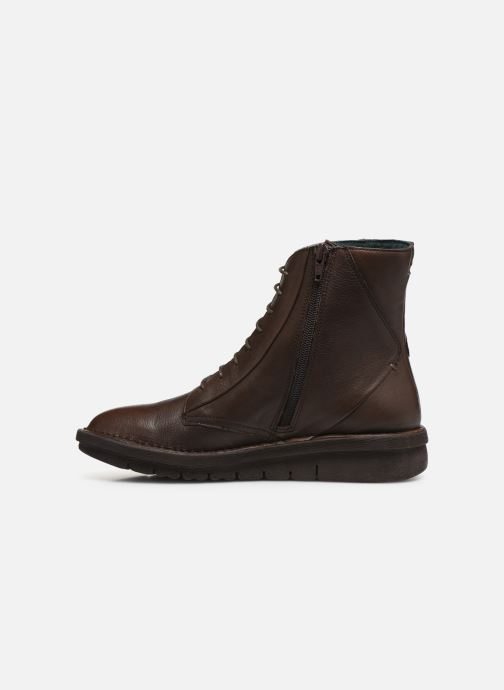 Bottines et boots Khrio 10622K Marron vue face