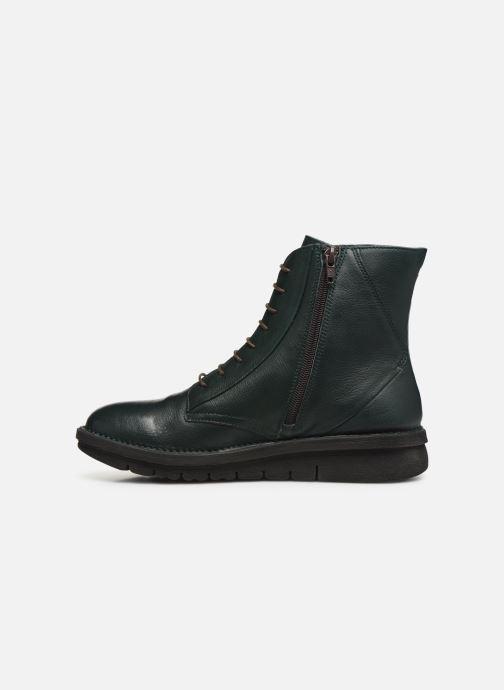 Bottines et boots Khrio 10622K Vert vue face