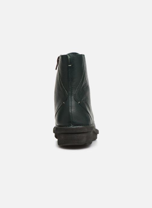Bottines et boots Khrio 10622K Vert vue droite