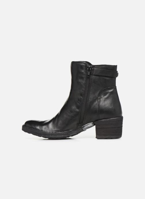 Ankle boots Khrio 10546K Black front view