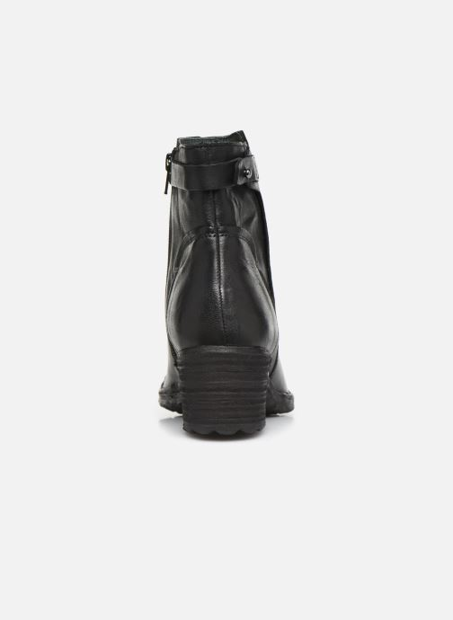 Ankle boots Khrio 10546K Black view from the right