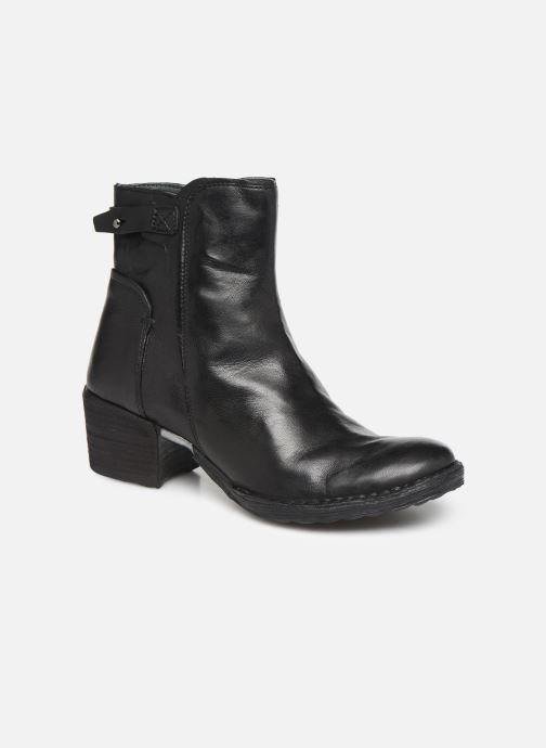 Ankle boots Khrio 10546K Black detailed view/ Pair view
