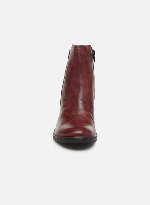 Ankle boots Khrio 10546K Burgundy model view