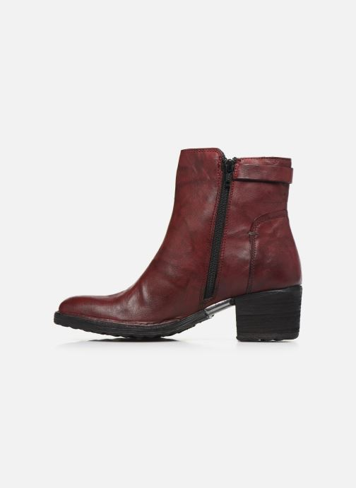Ankle boots Khrio 10546K Burgundy front view