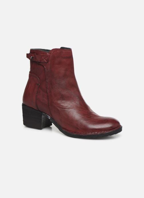 Ankle boots Khrio 10546K Burgundy detailed view/ Pair view
