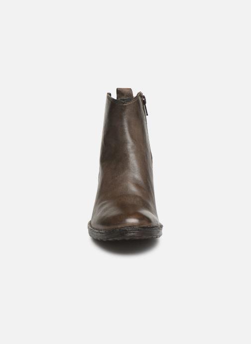 Bottines et boots Khrio 10543K Marron vue portées chaussures
