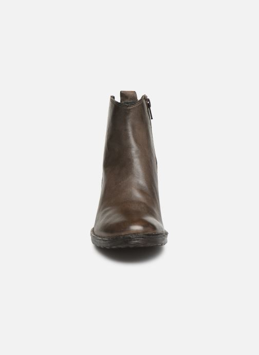 Ankle boots Khrio 10543K Brown model view