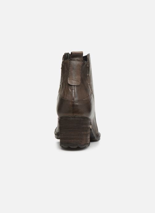 Ankle boots Khrio 10543K Brown view from the right