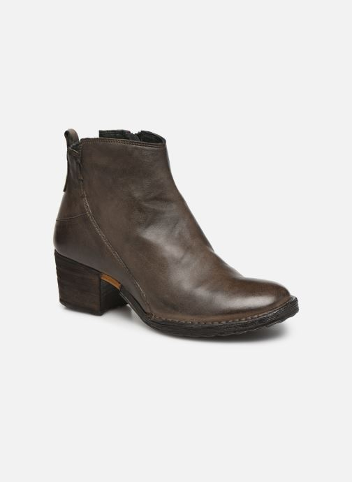 Ankle boots Khrio 10543K Brown detailed view/ Pair view
