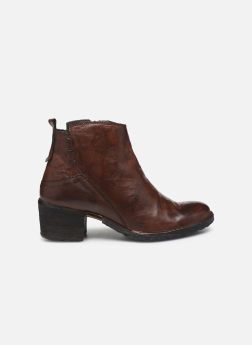 Ankle boots Khrio 10543K Brown back view