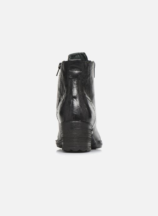 Ankle boots Khrio 10540K Black view from the right