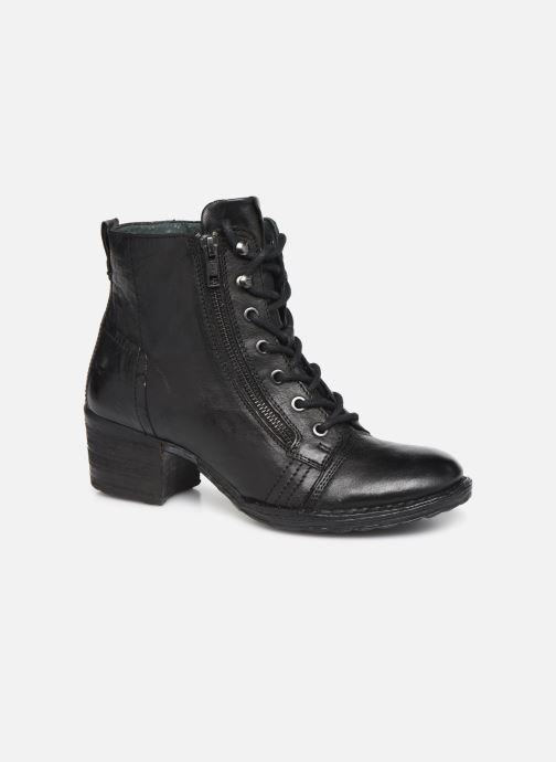 Ankle boots Khrio 10540K Black detailed view/ Pair view
