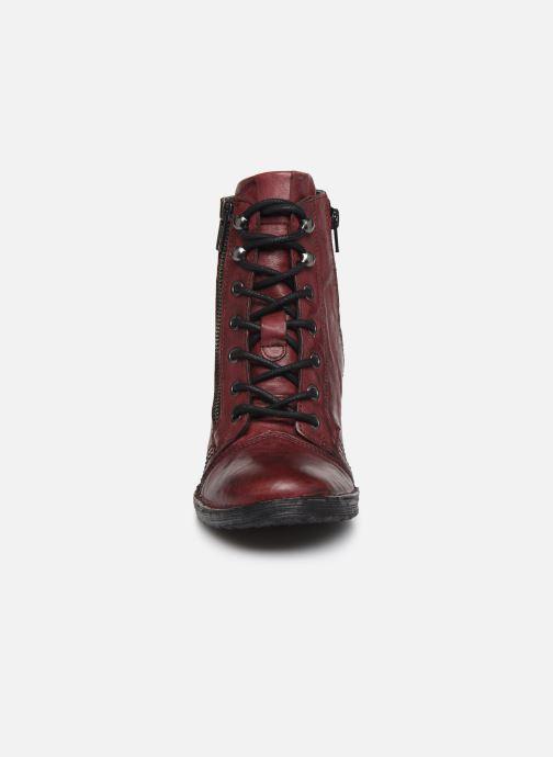 Bottines et boots Khrio 10540K Bordeaux vue portées chaussures
