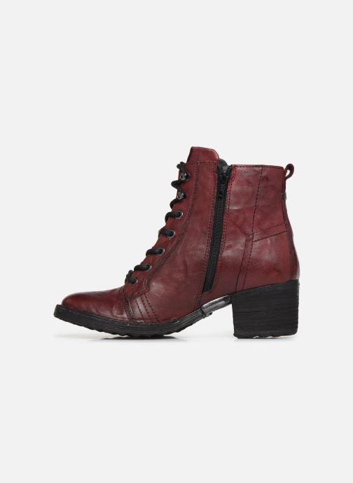 Bottines et boots Khrio 10540K Bordeaux vue face