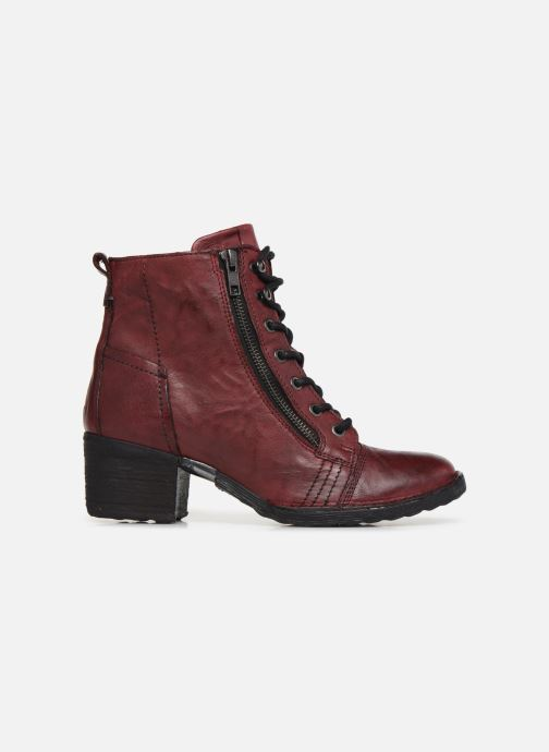 Ankle boots Khrio 10540K Burgundy back view