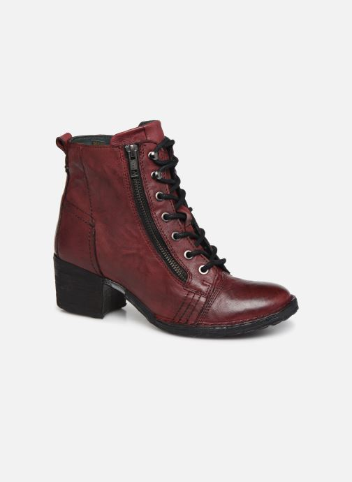 Ankle boots Khrio 10540K Burgundy detailed view/ Pair view