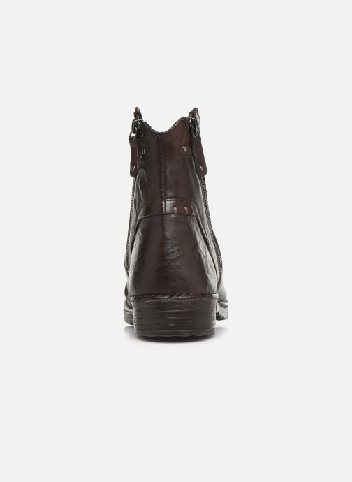 Ankle boots Khrio 10525K Brown view from the right