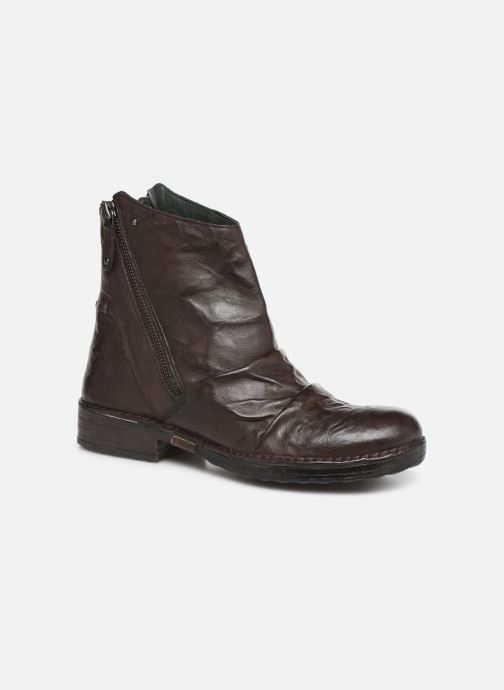 Ankle boots Khrio 10525K Brown detailed view/ Pair view