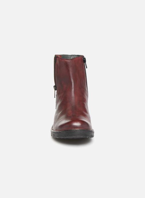 Bottines et boots Khrio 10520K Rouge vue portées chaussures