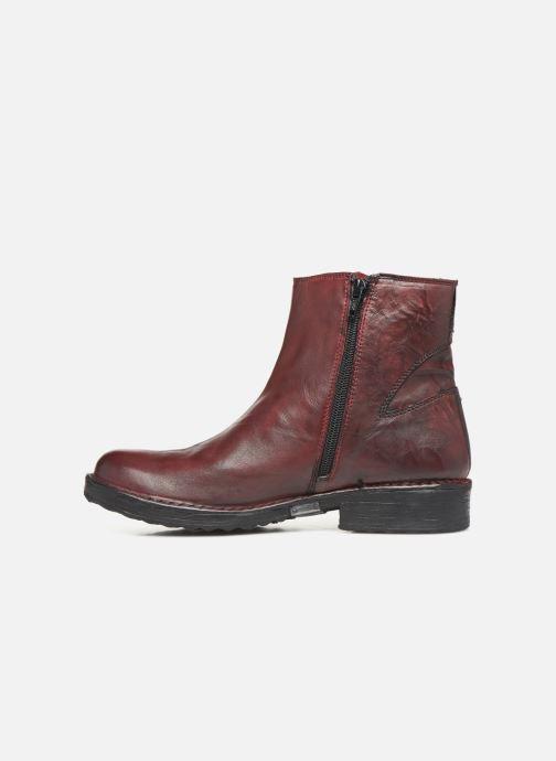 Bottines et boots Khrio 10520K Rouge vue face