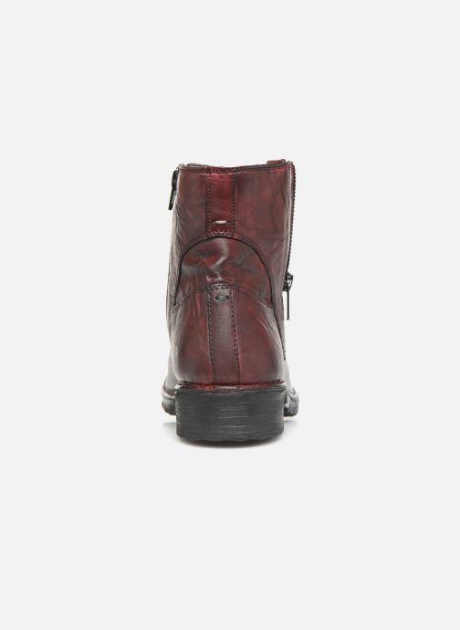 Bottines et boots Khrio 10520K Rouge vue droite
