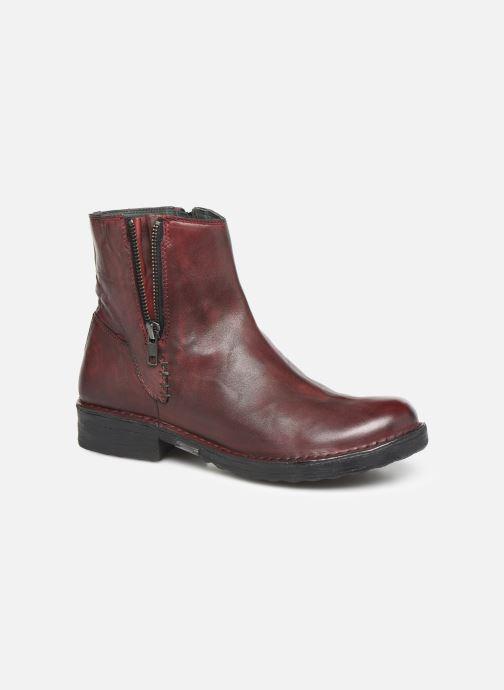 Bottines et boots Khrio 10520K Rouge vue détail/paire