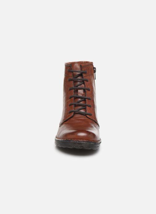 Bottines et boots Khrio 10521K Marron vue portées chaussures