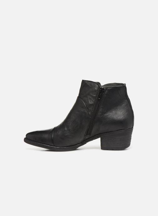 Ankle boots Khrio 10800K Black front view