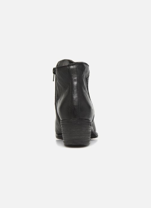 Ankle boots Khrio 10800K Black view from the right