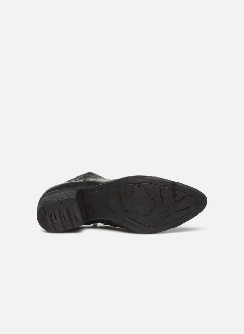 Stiefeletten & Boots Khrio 10800K schwarz ansicht von oben