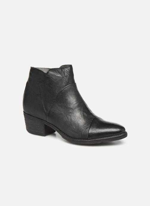 Ankle boots Khrio 10800K Black detailed view/ Pair view