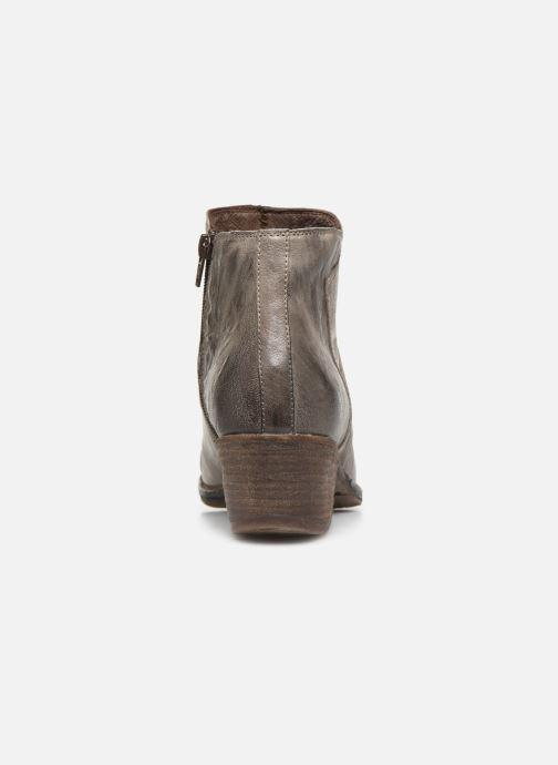 Bottines et boots Khrio 10800K Gris vue droite