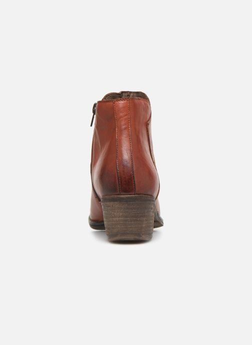 Bottines et boots Khrio 10800K Marron vue droite