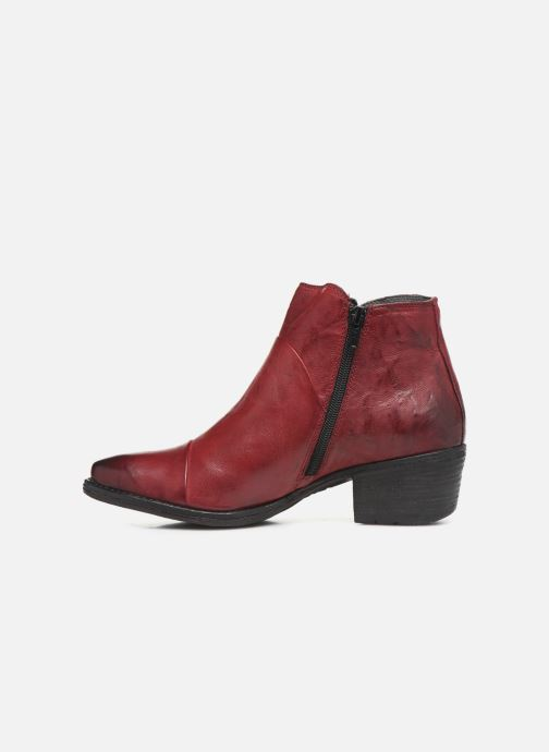 Ankle boots Khrio 10800K Burgundy front view