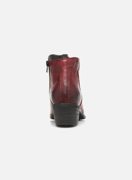 Ankle boots Khrio 10800K Burgundy view from the right