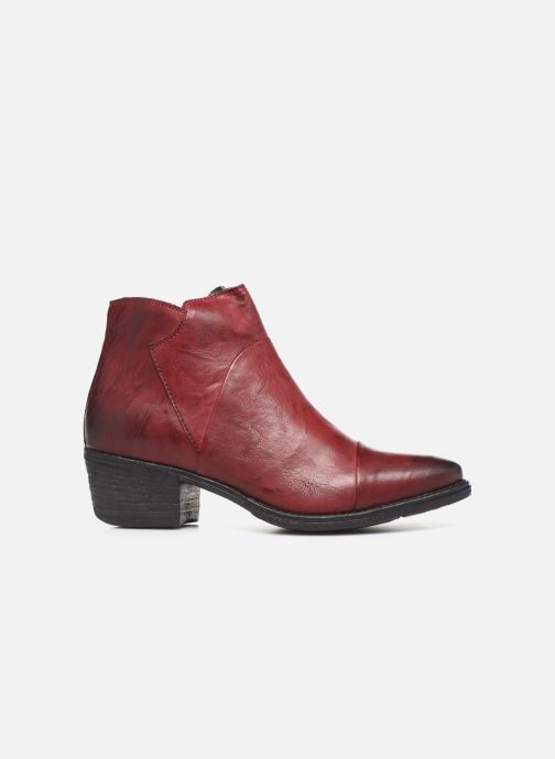 Ankle boots Khrio 10800K Burgundy back view
