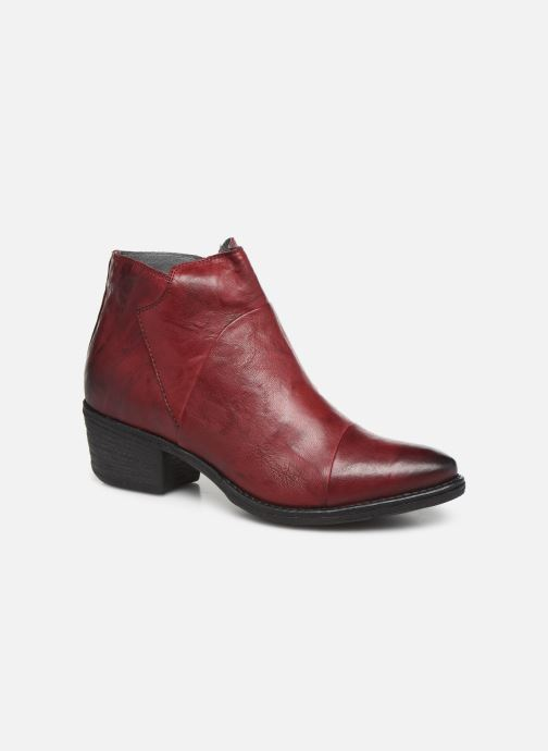 Ankle boots Khrio 10800K Burgundy detailed view/ Pair view