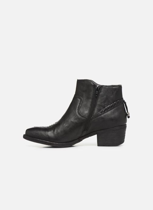 Ankle boots Khrio 10807K Black front view