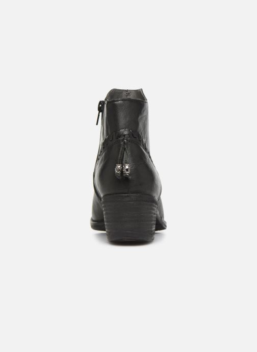 Ankle boots Khrio 10807K Black view from the right