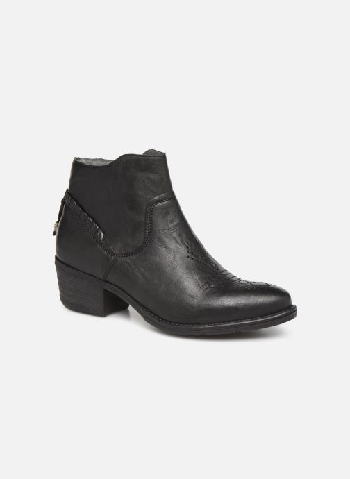 Ankle boots Khrio 10807K Black detailed view/ Pair view