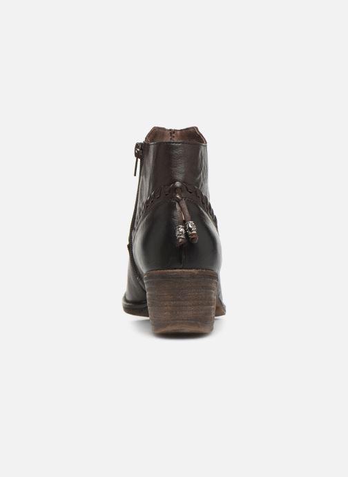 Bottines et boots Khrio 10807K Marron vue droite
