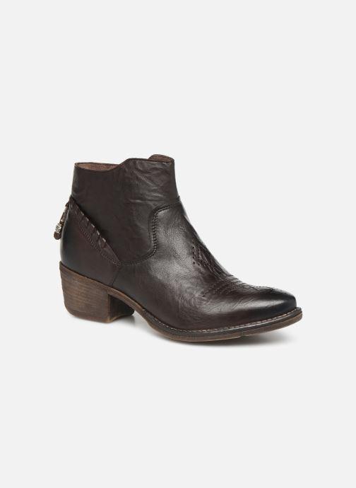 Boots en enkellaarsjes Khrio 10807K Bruin detail