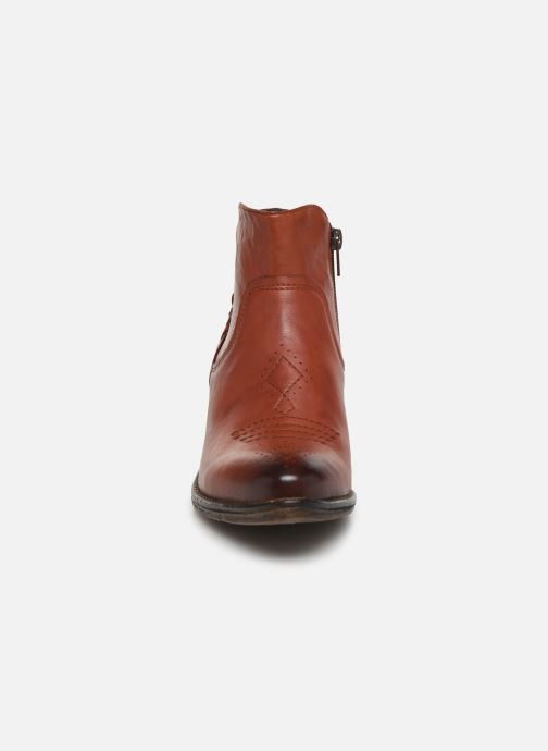Ankle boots Khrio 10807K Brown model view