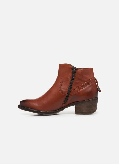 Bottines et boots Khrio 10807K Marron vue face
