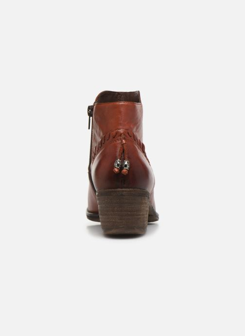 Ankle boots Khrio 10807K Brown view from the right