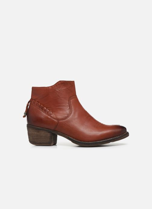 Ankle boots Khrio 10807K Brown back view