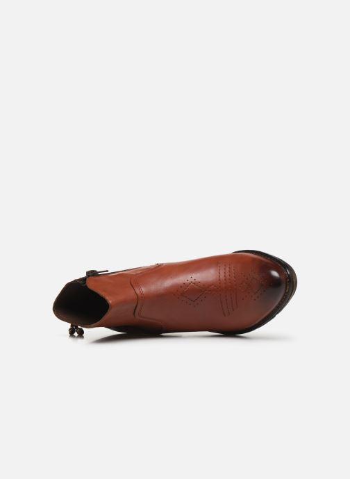 Bottines et boots Khrio 10807K Marron vue gauche