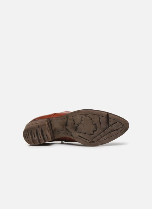 Ankle boots Khrio 10807K Brown view from above