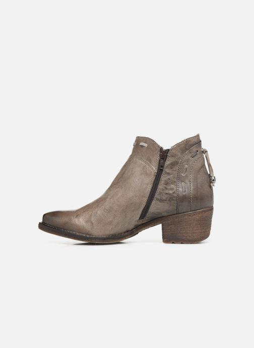 Ankle boots Khrio 10803K Grey front view